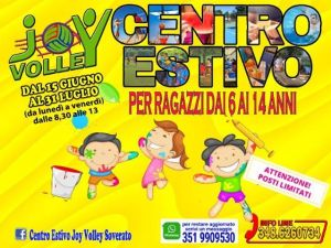 Soverato – Il Centro Estivo Joy Volley sarà presto operativo
