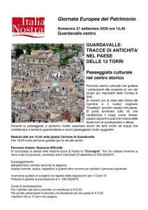 """Il 26 e 27 settembre due iniziative della sezione di Italia Nostra """"Paolo Orsi"""" Soverato-Guardavalle"""