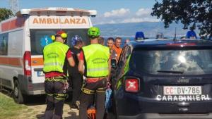 Messina, recupero di una persona caduta in un burrone