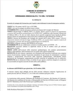 Emergenza Coronavirus, chiusa per due giorni una scuola a Soverato