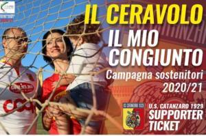 """""""Il Ceravolo – Il mio congiunto"""" è la campagna sostenitori del Catanzaro"""