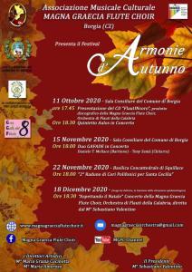 """Domenica 11 ottobre a Borgia la presentazione di """"FlautINcoro"""""""