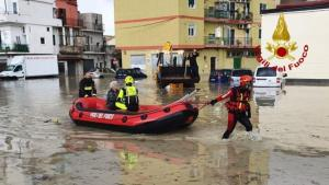 Alluvione a Crotone, oltre cento le richieste di soccorso