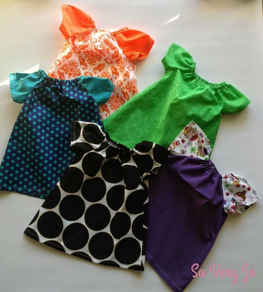 5 Dresses sent