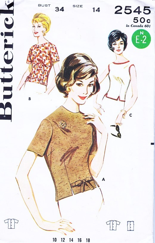 Image result for butterick 2545