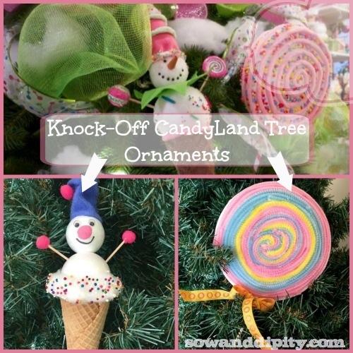 Candyland Christmas Ornament Diy