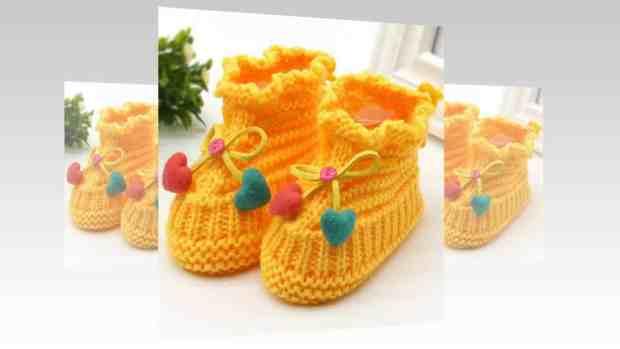 صور أحذية كروشية للأطفال جميلة جدا