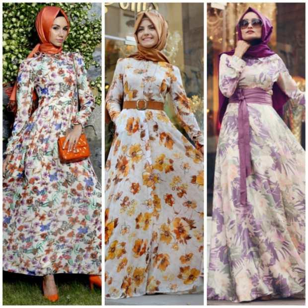 صور أزياء لموضة المحجبات جميلة