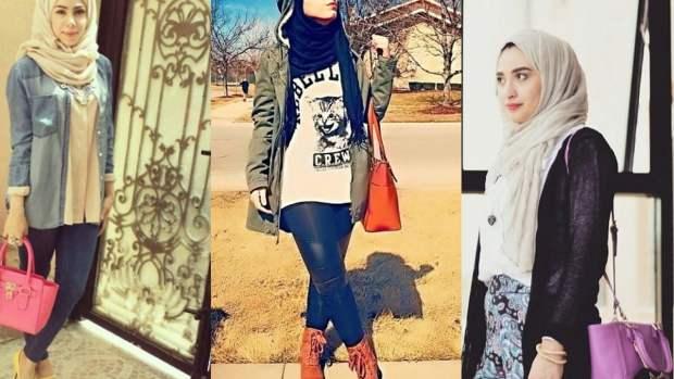 صور تصميمات لصبحات الموضة للمحجبات منوعة