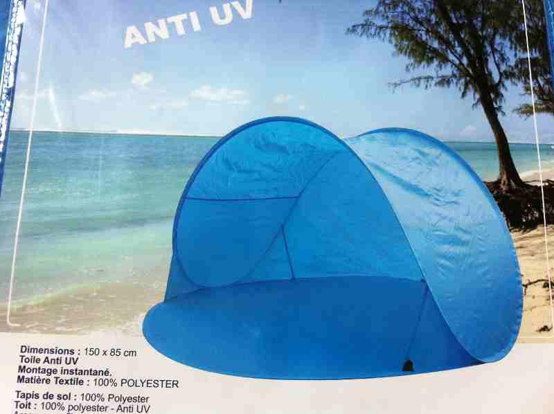 Tente De Plage Pop Up Anti UV Larkenciel So We