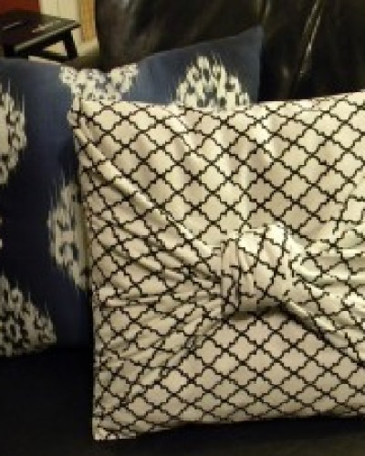 Monday Mini Project: No Sew Pillow Cover