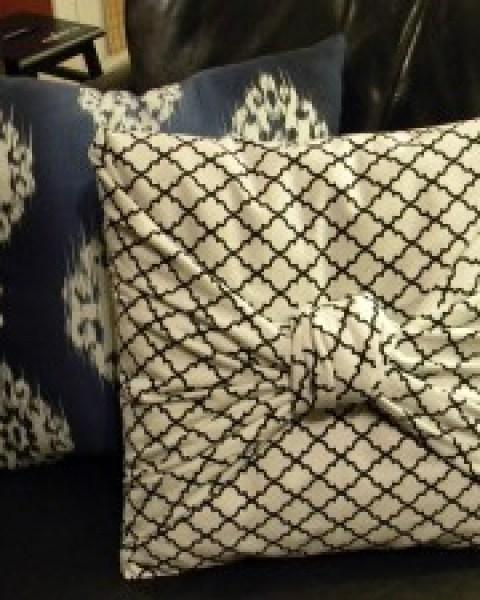 Monday Mini Project: No Sew Pillow Cover