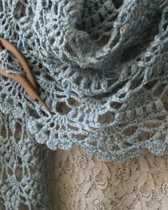 Elegant Crochet Shawl