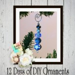 12 Days of DIY Christmas Ornaments ~ Day Two