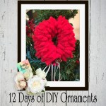 12 Days of DIY Christmas Ornaments-Day Five