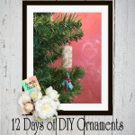 12 Days of DIY Christmas Ornaments ~ Day Four