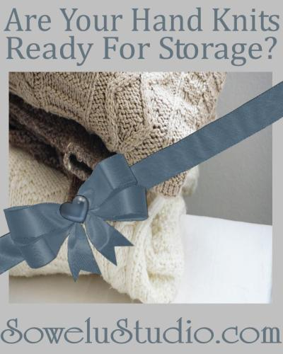 Proper Cleaning & Storage of Your Hand Knit Garments & Accessories!