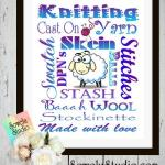 Are you a knitter? This is for you! ~ Free Printable