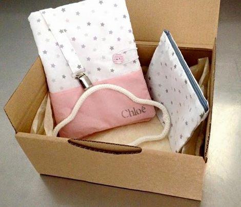 box naissance Tricotinette et l'Atelier de Violette