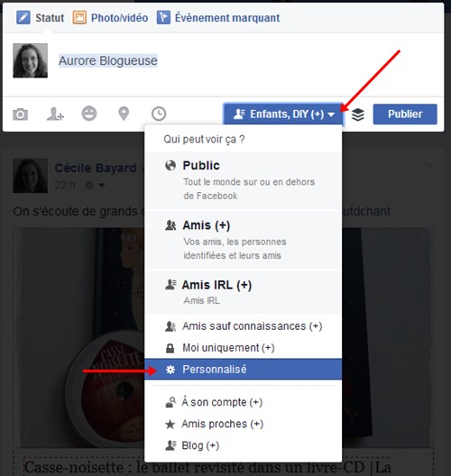 Facebook tag identification