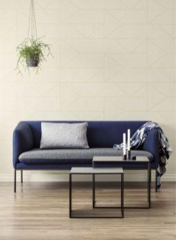 Au-dessus du canapé dans le salon (c) Source La Redoute, pots Ferm Living / Pinterest
