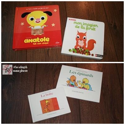 livres pour enfant : à deux ans et demi