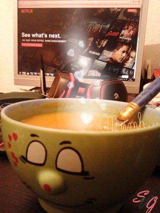 soupe de potiron recette