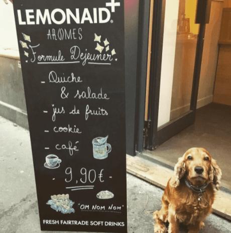Coffeeshop Arômes, Paris