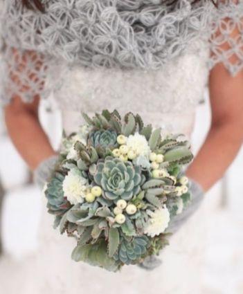 Bouquet de Plantes Grasses Crédit photo: Pinterest