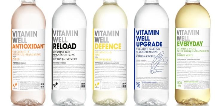 Vitamin Well : des vitamines et des minéraux dans des boissons made in Suède ! (concours)