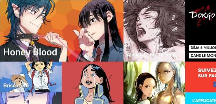 La génération 2.0 des bandes dessinées : les webtoons