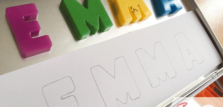DIY : Apprendre à écrire son prénom