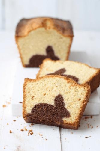du gâteau lapin