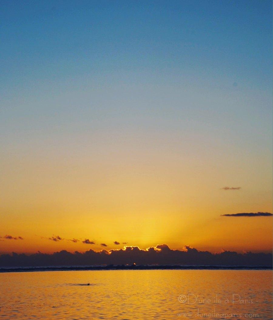Un coucher de soleil, pour garder la hygge attitude en été