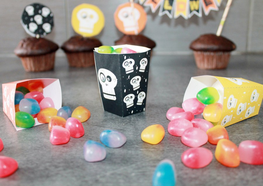 Décorations de table pour Halloween chez les So Workin'Girls
