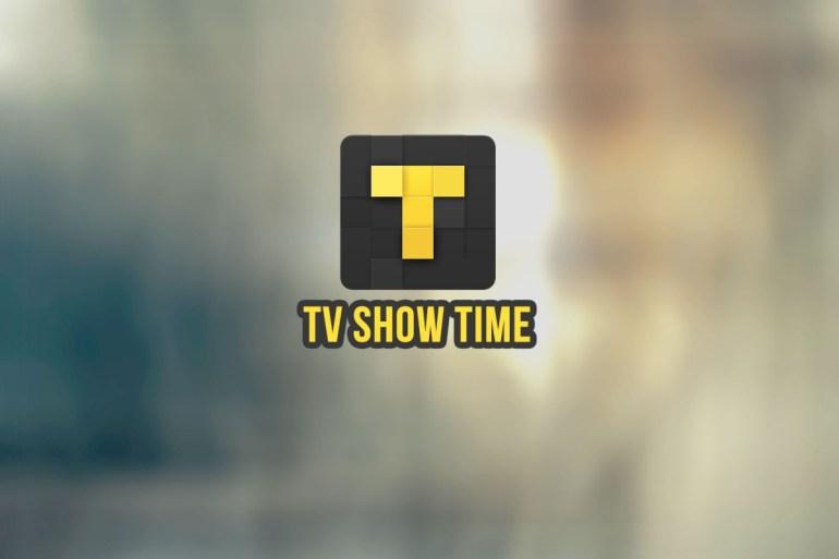 Application TV Time Show pour les séries