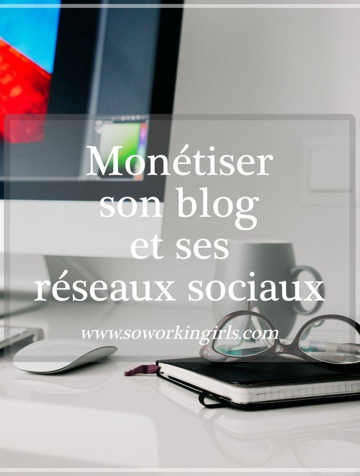 Image Pinterest : Monétiser son blog et ses réseaux sociaux