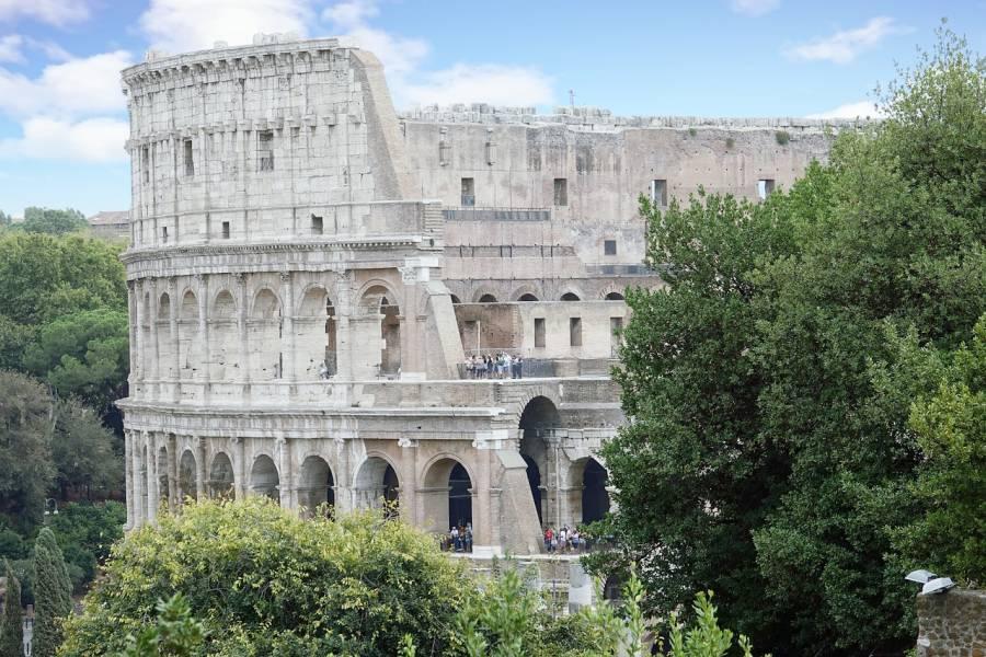 Photo du Colisée à Rome, en Italie