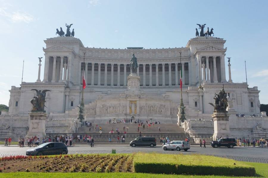 Vittoriano à Rome en Italie