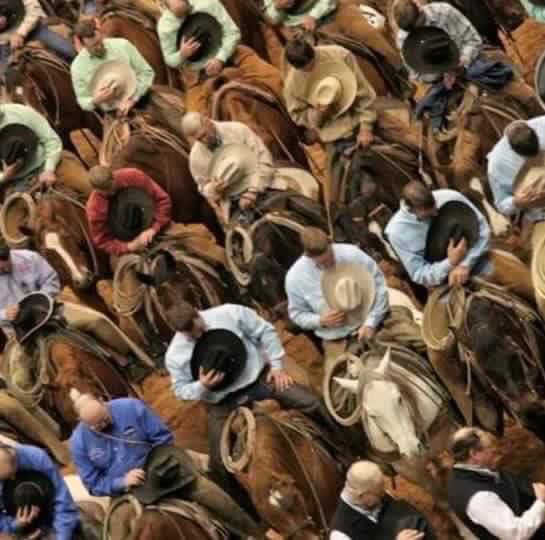 Cowboy respect
