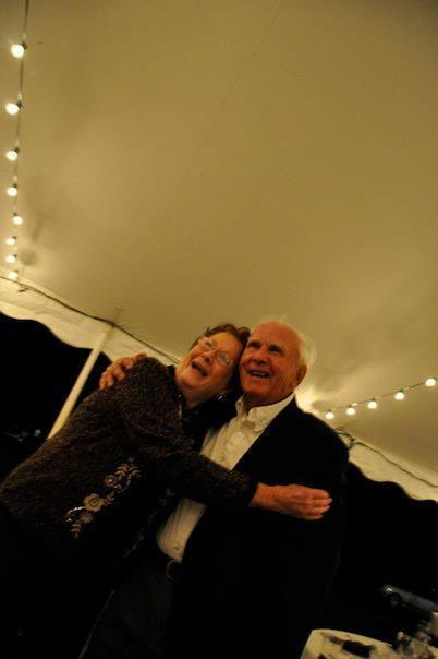 Mom and Dad at granddaughter Karas wedding
