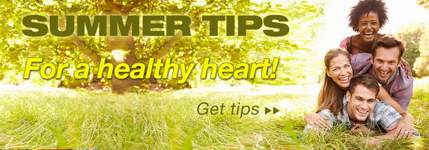 summer tips healthy heart