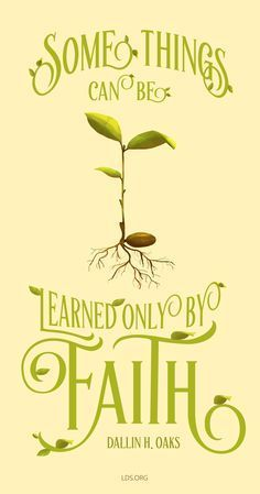 learn by faith
