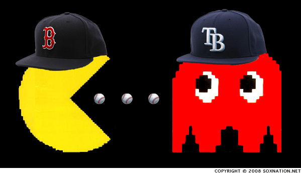 Red Sox are eating up the Tampa Bay Rays