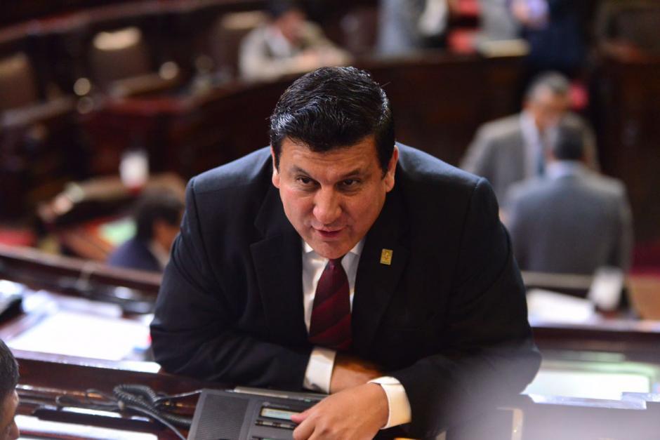 El diputado Ernesto Galdámez asumió como primer secretario del Congreso el 14 de enero. (Foto: Archivo/Soy502)