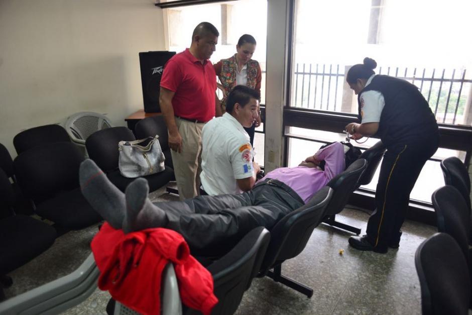Manfredo Pacheco, exviceministro de Gobernación, tuvo complicaciones de salud en el juicio en el que también está involucrado Mauricio López Bonilla. (Foto: Jesús Alfonso/Soy502)