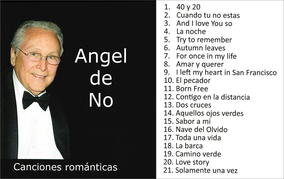 Angel de No - Canciones románticas