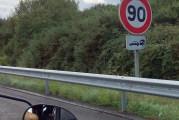 Nuevos límites de velocidad con caravanas y autocaravanas