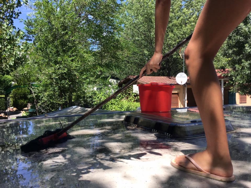 Mantener techo limpio
