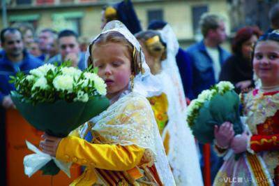 Ofrenda Floral. Foto: Turismo Valencia